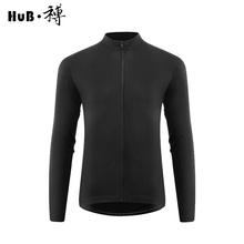 цена на HuB Cycling Jersey autumn Winter road Mtb Bicycle Clothing Breathable Racing Thermal Bike Maillot Ciclismo Cycling Long sleeve