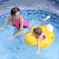 Baby Swim Ring Inflatable Seat Floating Kids Swimming Pool Accessories Bathing Raft Children Swim Trainer Baby Float Toy