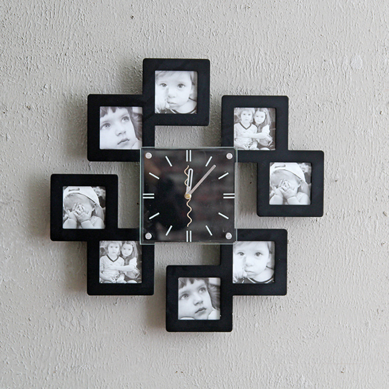 нашу настенные часы своими руками из фотографий будущих