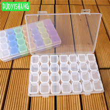 DUOYISHANG Diamond Painting Tools 28 Grid Embroidery Water Diamond Household Daily Necessities Storage Box