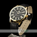 SEWOR New Mens Women Gold Skeleton Transparent self-wind automatic watch Men