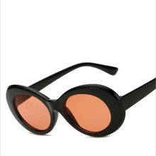 2017 Superhot Eyewear – Retro Vintage Oval Round Sunglasses Men Women Alien Sunglasses NIRVANA Kurt Cobain Shades UV400