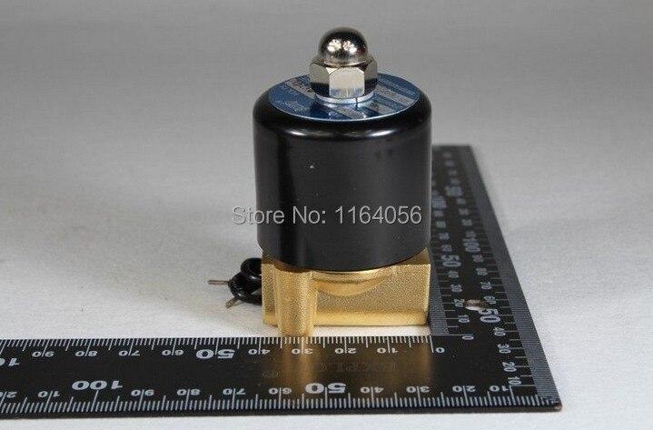 Ventil Symbol Der Marke 2way 2 Position Ac 110 V 1/8 elektrisches Magnetventil Wasser-luft N/c Gas-wasser-luft
