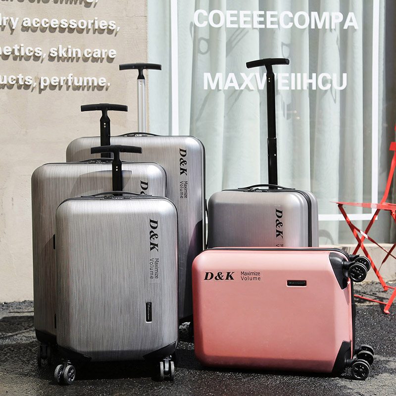 Frost Aluminum Luggage Hardside Rolling Trolley Luggage Travel Suitcase 20 Carry on Luggage 24 26 28 Checked Luggage Cabin