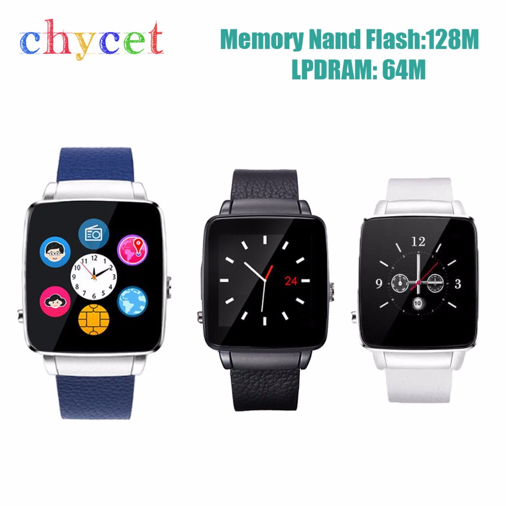 New Original X6 Bluetooth reloj inteligente Smart Watch font b Smartwatch b font Sport Watch For