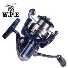 W.P.E W11 Series 30F 40F Carp Fishing Spinning Reel High Speed 5.5:1 8KG Max Drag Power Tackle 9+1 Ball Bearings