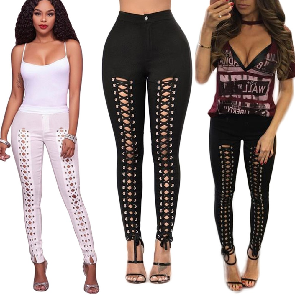 American hot black white bodysuit women legging full length fashion rompers women jumpsuit clubwear 9687