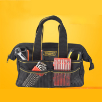 Waterproof Large Capacity Oxford Cloth Electrician Tool Bag Multifunction Single Shoulder Repair Tool Bag Tool Organizers