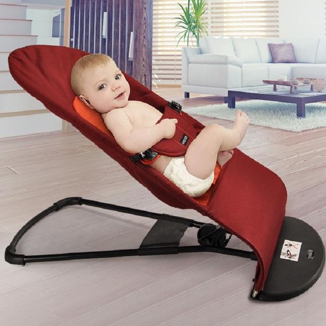 2016 nova do bebê assentos de carro do bebê cadeira de balanço das crianças crdle cadeira luz matal cadeira ajustável 0-3 anos de idade do bebê dormir assento 16804