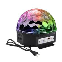 Disco Ball Strobe Light Party Lights Portable 9 Colors Sound Activated Stage Lights With Remote Control For Dance Club KTV(China)