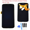 NEW LCD For Motorola Moto X XT1058 XT1060 XT1053 LCD Display Touch Screen with Digitizer Assembly + Tools , Black Replacement