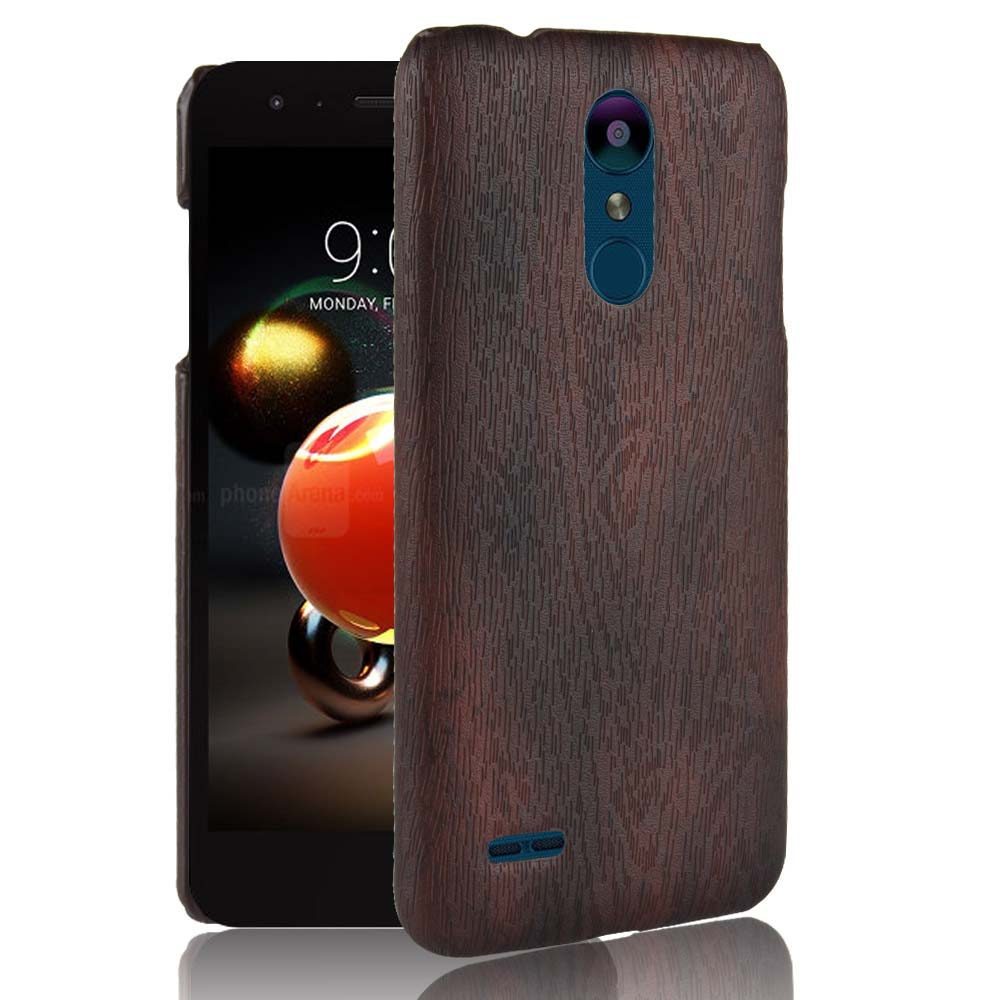 "SUBIN New phoneCase For LG K8 2018 5.0"" Retro wood grain Mobile phone Back Cover Phone Protective Case for LGK8 (2018)"