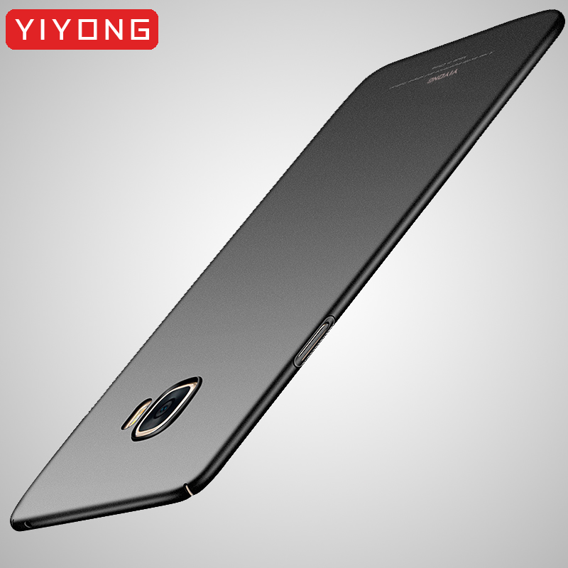 YIYONG Cover For <font><b>Samsung</b></font> Galaxy A3 <font><b>A5</b></font> A7 J3 J5 J7 2017 <font><b>2016</b></font> <font><b>Matte</b></font> Coque For <font><b>Samsung</b></font> A8 A6 J4 J6 Plus 2018 J8 A9 A9S A6S A8S <font><b>Case</b></font> image