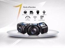 3 Шт./лот, DHL Свободный Корабль Дешевые VR360 1920×1440 Wi-Fi Камера 360 Действий Камеры 5Mp Фото 1200 мАч Батареи 2.4 ГГц пульт дистанционного Управления