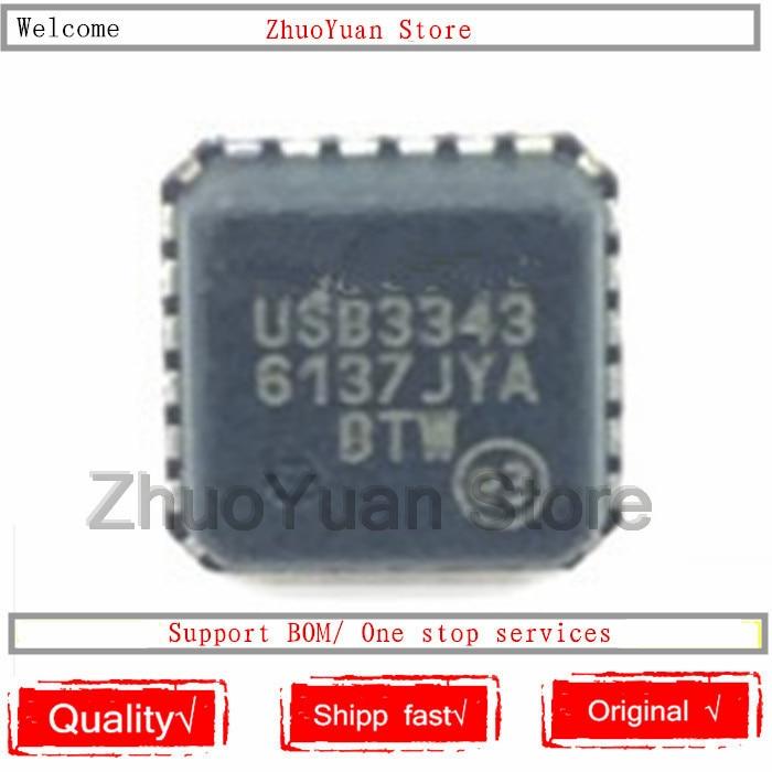 1PCS/lot USB3343-CP-TR USB3343 QFN24 New Original IC Chip