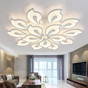 Image 2 - New Modern led ceiling lights for living room bedroom Plafon home Lighting combination White and Black home Deco ceiling lamp