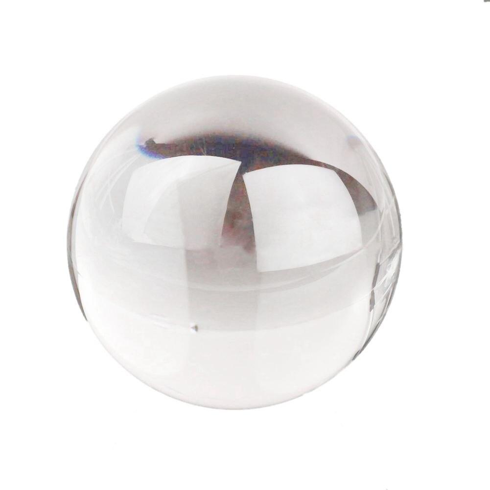 FBIL-60mm Bola de acrílico clara transparente contacto manipulación malabares bola regalos Válvula de cierre de Manipulador automático de DC8V-DC16V para alarma, dispositivo de seguridad para tuberías de Gas y agua para cocina y baño