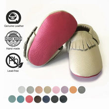 Kinghoo 100% Genuine Leather Shoes Soft Baby Girl Shoes First Walkers Toddler Baby Boys Moccasins Infant Newborn Girl Shoes(China)