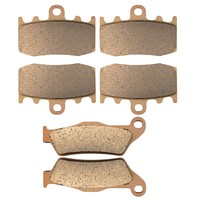 Motorcycle Front And Rear Brake Pads For BMW R1150RT R1150 RT Integral ABS 2000 2005 Sintered