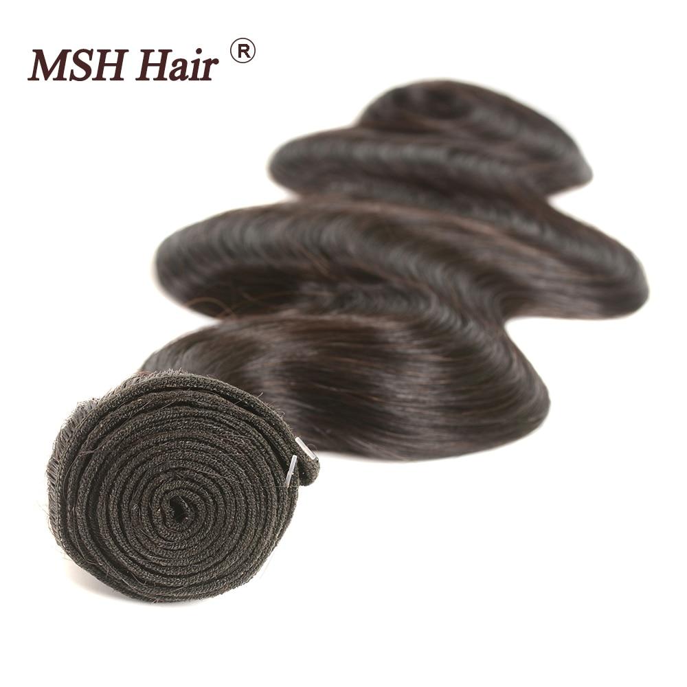 HTB1BhoYnyCYBuNkSnaVq6AMsVXaB MSH Hair Brazilian Body Wave Human Hair Weave Bundles With 4*4 Lace Closure 130% Density Non Remy