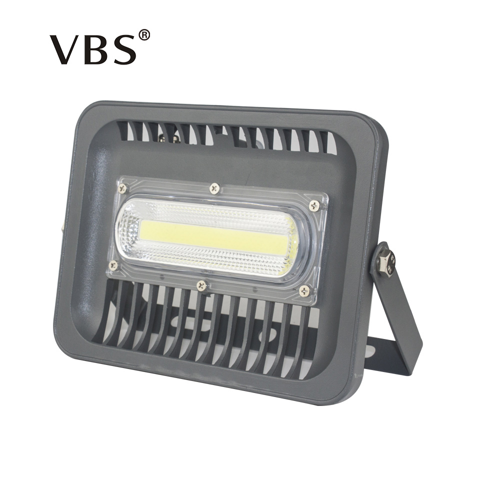 Vattentät IP66 LED Flood Light 30W 50W 100W 150W Projektor 110V 220V Utomhus Säkerhet Landskap Floodlight Wall Spotlight Chip