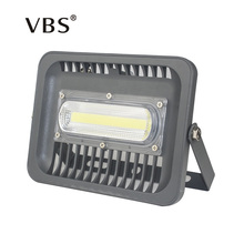 2016 New LED Flood Light 30W 50W 100W Black AC85-265V IP66 Waterproof Spotlight Lamp Outdoor Lighting Flood Lights