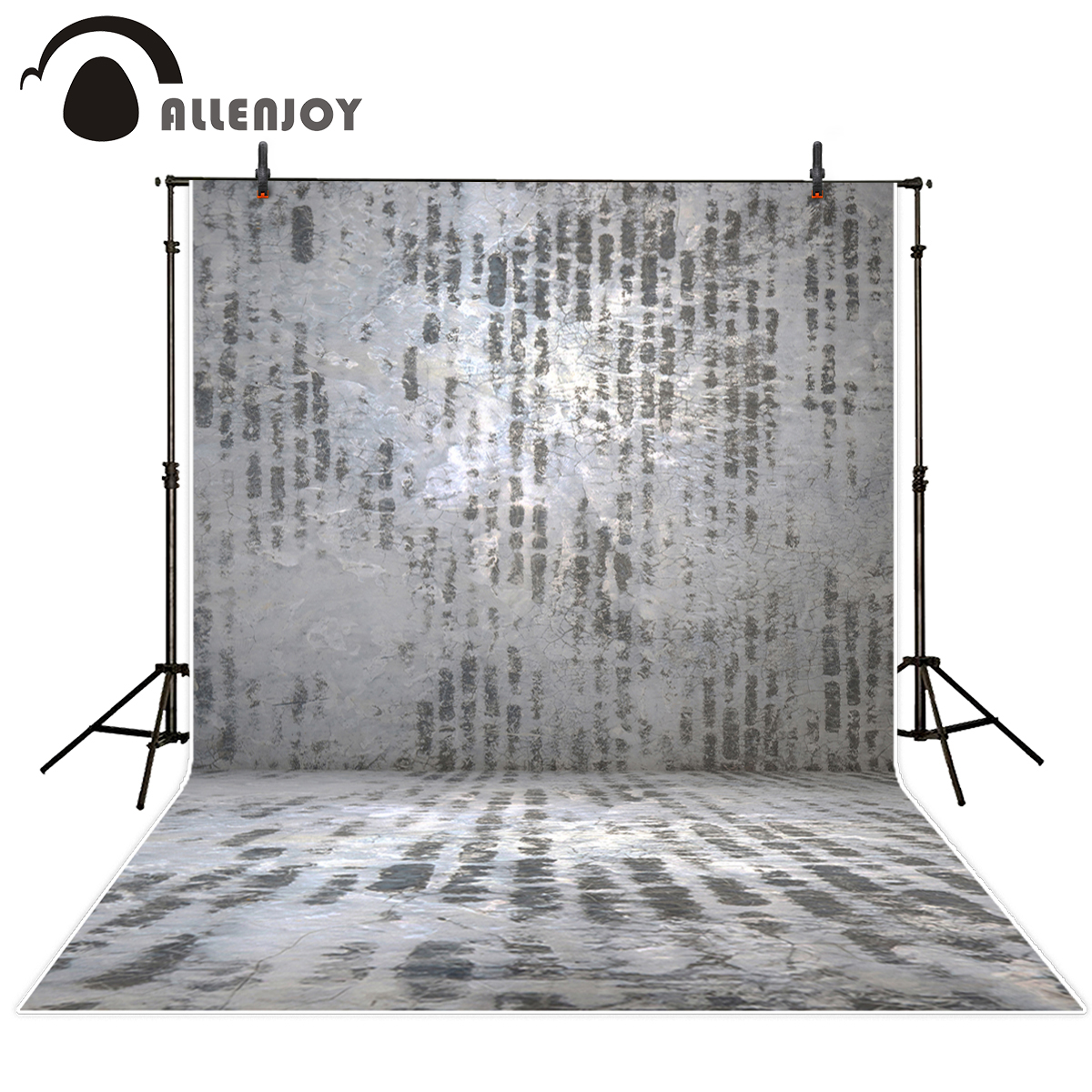 Allenjoy photography backdrops white and gray brick wall brick floor backgrounds for photo studio photography studio backgrounds allenjoy photography backdrops white and gray brick wall brick floor backgrounds for photo studio photography studio backgrounds