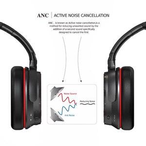 Image 4 - Ausdom ANC7S Aktive Noise Cancelling Wireless Kopfhörer Bluetooth Headset mit Mic Reinen Klang für TV Sport U bahn Flugzeug