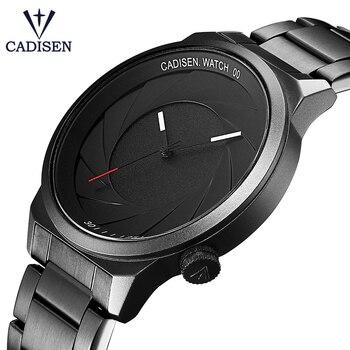 CADISEN Rubber Strap Luxury Brand Women Men Unisex Waterproof Fashion Casual Wristwatches Quartz Unique Creative Sports Watches 1