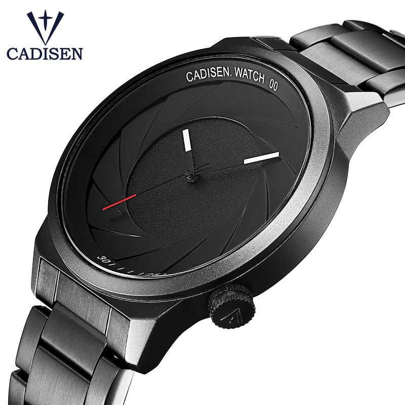 CADISEN Rubber Strap Luxury Brand Women Men Unisex Waterproof Fashion Casual Wristwatches Quartz Unique Creative Sports