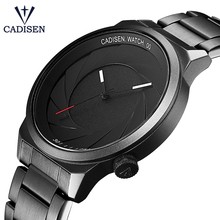 CADISEN Rubber Strap Luxury Brand Women Men Unisex Waterproof Fashion Casual Wristwatches Quartz Unique Creative Sports Watches