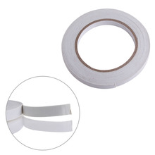 цена на 5m White Double Sided Strong Sticky Self Adhesive Foam Tape Mounting Fixing Pad  Dual adhesive tape