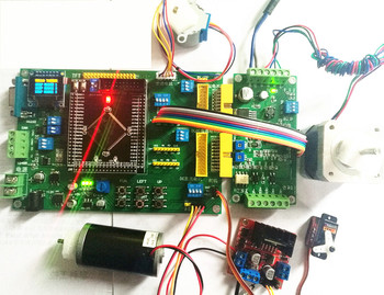 THB6128 chip STM32 step motor S T trapezoid curve plus deceleration board learning board Suite