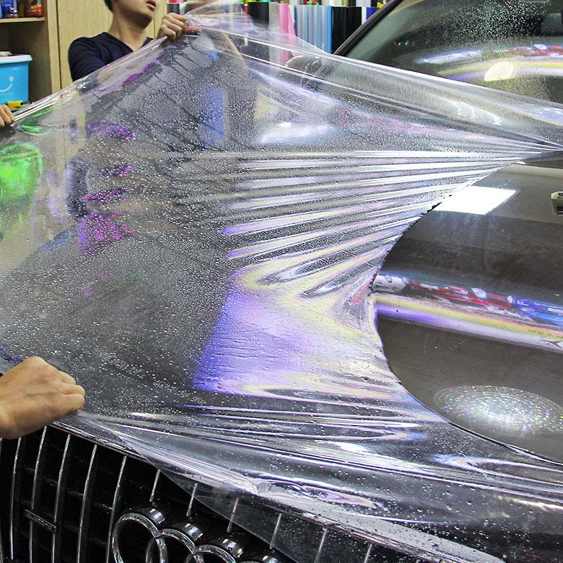 SIZE 50 200CM Roll Hot Cars 3 Layers PPF Paint Protection Film for Car Wrapping Transparent
