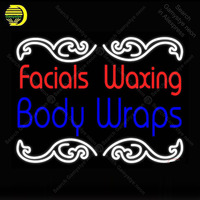 Neon Sign Facials Waxing Body Wraps Neon Light for Store Display Neon Bulbs Sign Decorative Room Arcade Light Custom Affiche