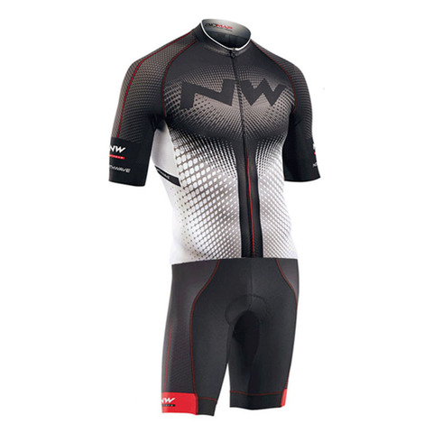 Men Pro NW Team Triathlon Suit Cycling Clothing Skinsuit Jumpsuit Maillot Cycling Jersey Ropa Ciclismo Bike Sports Clothing Pakistan
