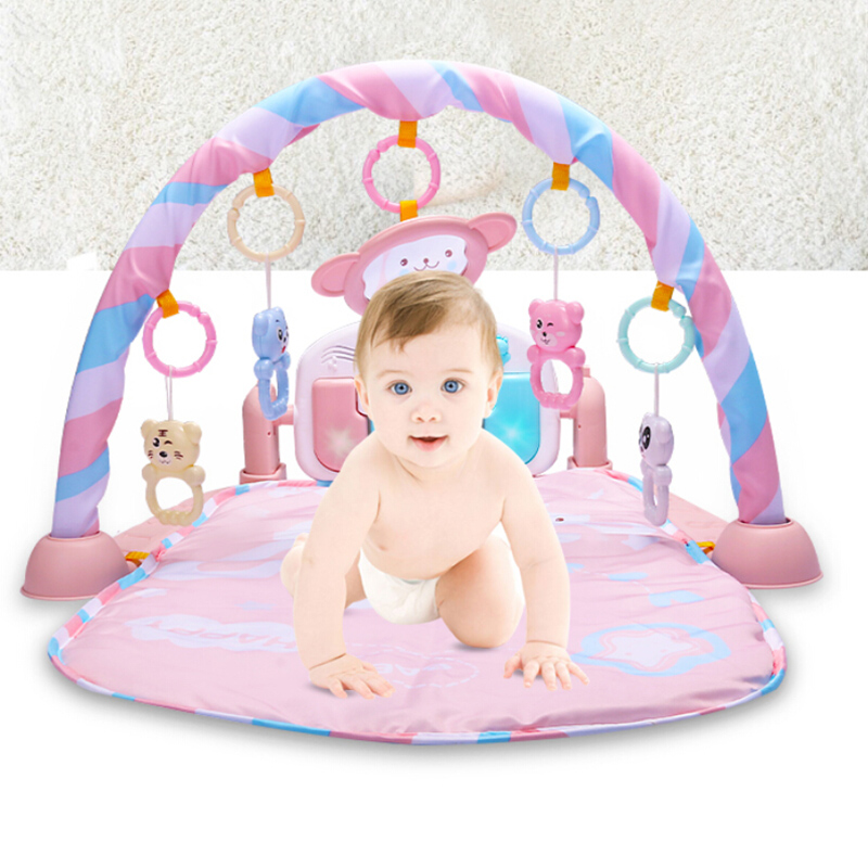FBIL-Baby Play Mat Baby GymToys 0-12 Months Soft Lighting Rattles Musical Toys For Babies Brinquedos Play Piano GymFBIL-Baby Play Mat Baby GymToys 0-12 Months Soft Lighting Rattles Musical Toys For Babies Brinquedos Play Piano Gym