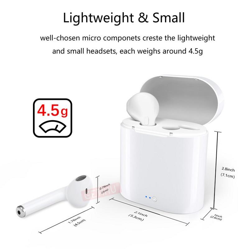 81badc8e4f7 Mini Bluetooth Earphone Headphones For Apple iPhone X XS Max 8 Wireless  Headphone Earphones Headset Phone in Air Ear Earbud Pods-in Bluetooth  Earphones ...