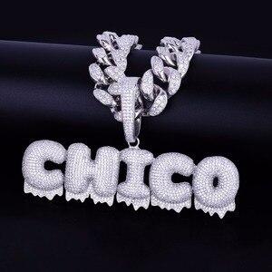 Image 5 - Кулон с буквами капельками и кулоном, 20 мм