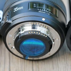 Image 3 - Yongnuo Yn 35Mm F2 Camera Lens Voor Nikon Canon Eos YN35MM Lenzen Af Mf Groothoek Lens Voor 600D 60D 5DII 5D 500D 400D 650D 6