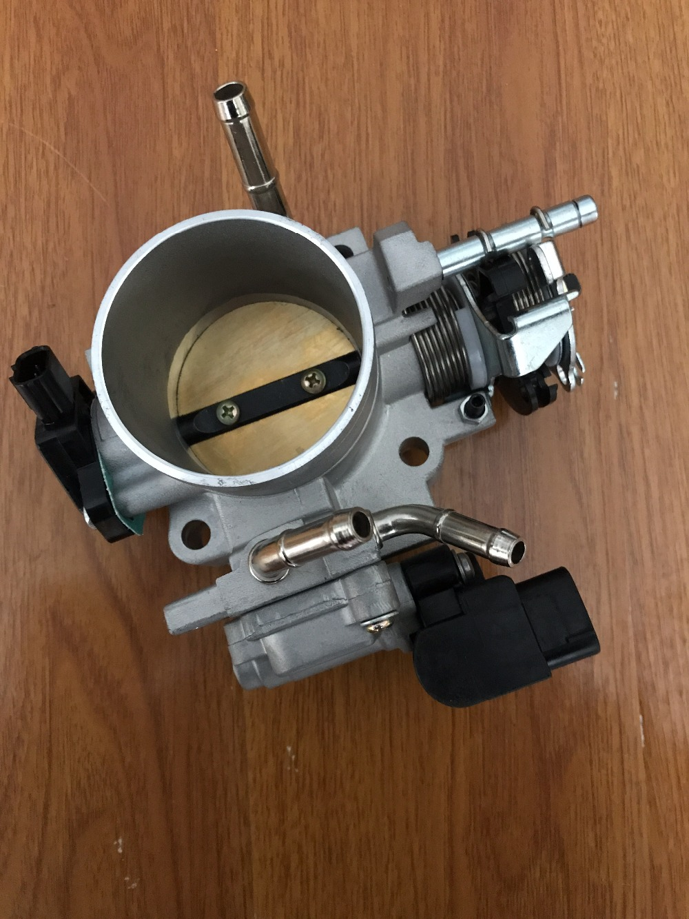 Cable Drive Throttle Body For Honda Accord DX LX EX 2.4L 2003-2005 vr 70mm throttle body tps throttle body position sensor for honda b16 b18 d16 f22 b20 d b h f ef eg ek dc2 h22 d15 d16 page 11