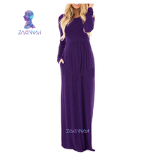 Maxi Dresses for Women Long Sleeves Plus Size
