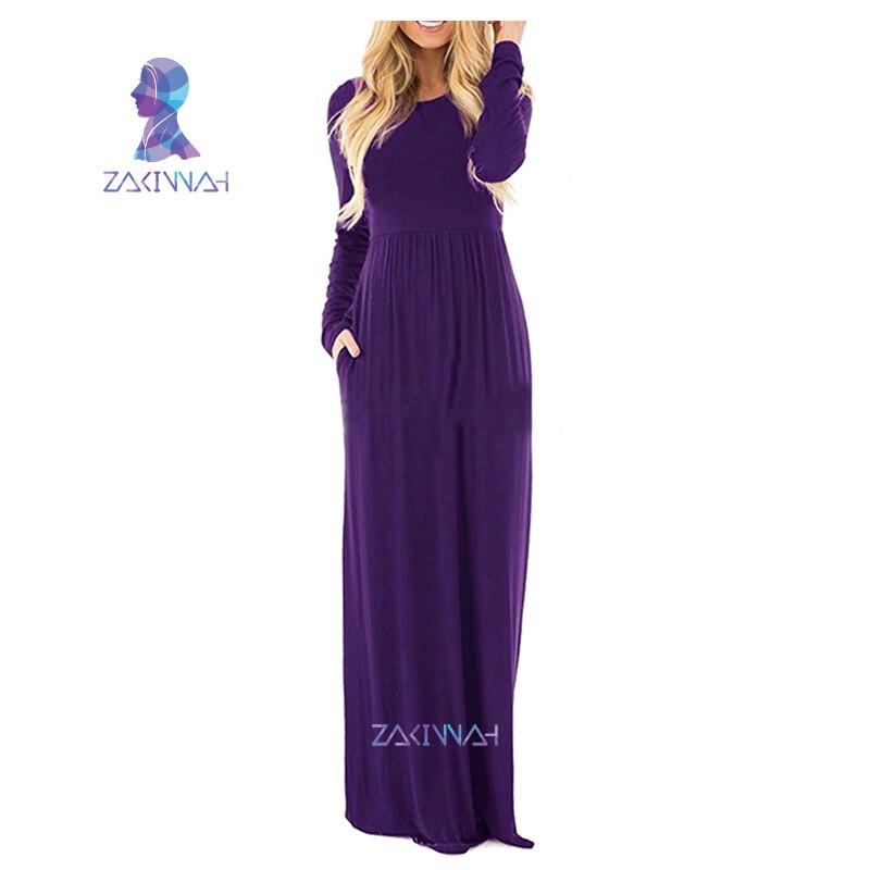 Maxi Dress For Women long Sleeve Plus Size Long Dresses - Sabas Palace