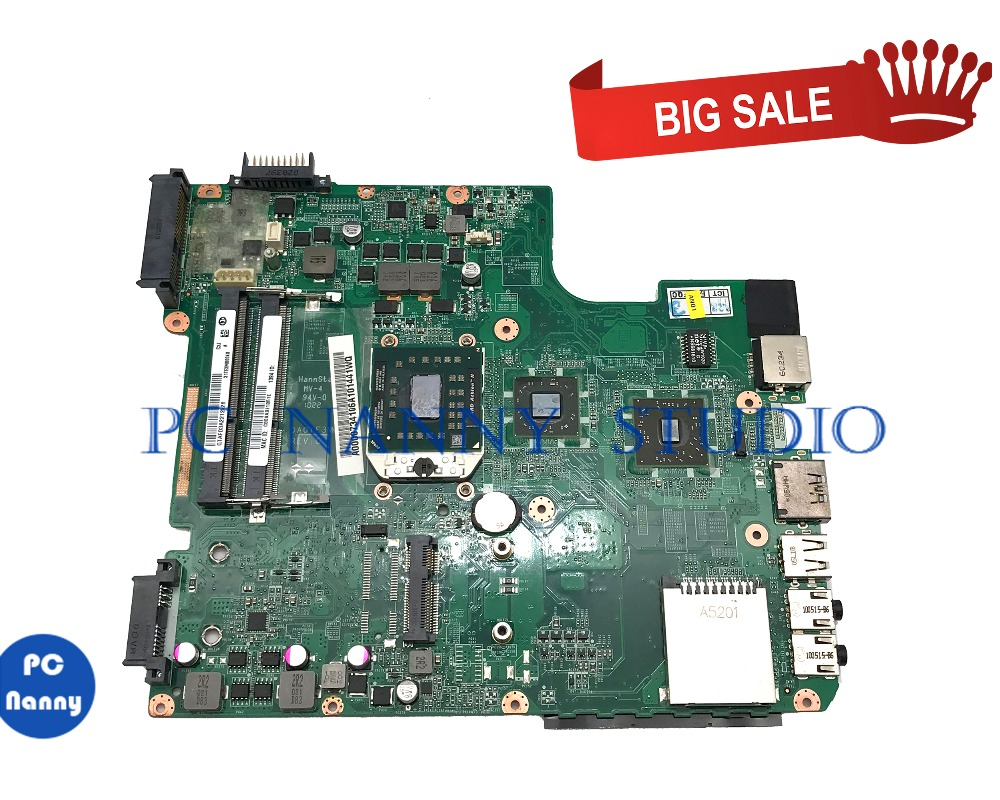 PCNANNY FOR Toshiba Satellite L645D L645 Laptop Motherboard Mainboard DA0TE3MB6B0 A000073410 DDR3 Tested