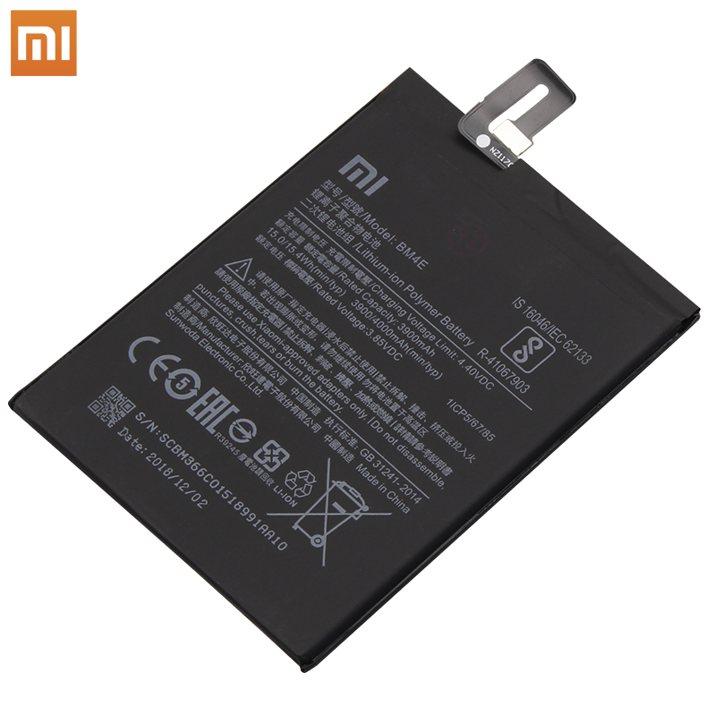 Image 5 - Xiao Mi Original Phone Battery BM4E for Xiaomi Mi Pocophone Poco F1 3900mAh Replacement Batteries Free Tools-in Mobile Phone Batteries from Cellphones & Telecommunications