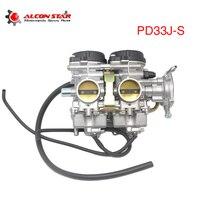 ZS гоночный мотоцикл карбюратор PD33J S 33 мм для YAMAHA RAPTOR 660 660R YMF660 2001 2005 500cc 600 700cc гоночный мотор