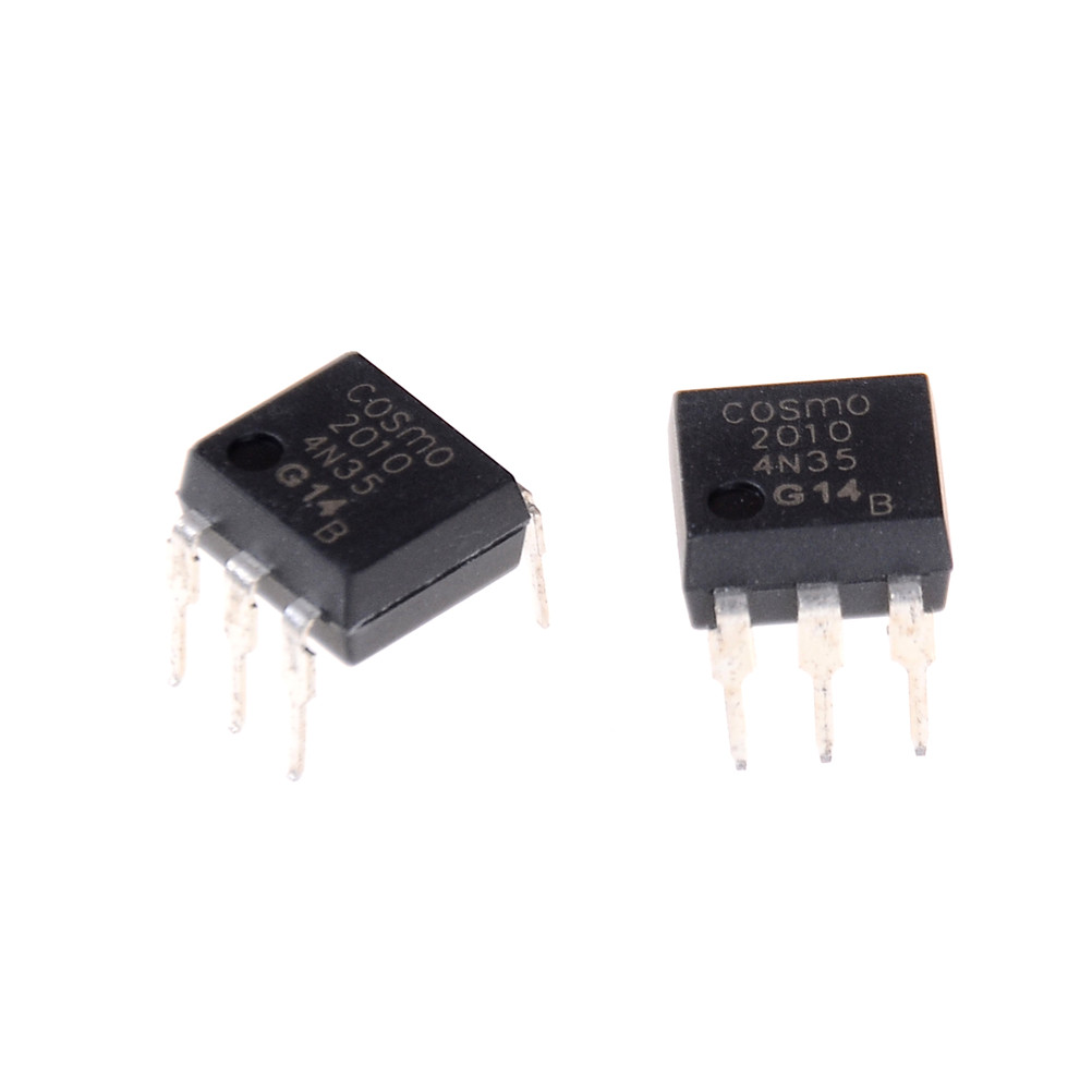 10 Teile/los 4n35 Fsc Optokoppler Fototransistor 30 V Dip6 Ic Anschlüsse Großhandel
