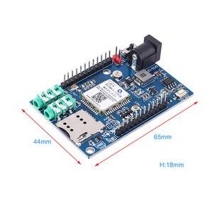 Image 3 - Voor Arduino STM32 GSM GPRS GPS Draadloze Shield Module F21 3 In 1 Module DC 5 12V 51MCU ondersteuning Voice Bericht Beidou Positionering