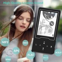 MP4 плеер CHENFEC с 2,4 дюймовым экраном и динамиком, музыкальный проигрыватель с сенсорными кнопками, с поддержкой карт TF до 64 ГБ, видеоплеер с поддержкой FM и электронной книги