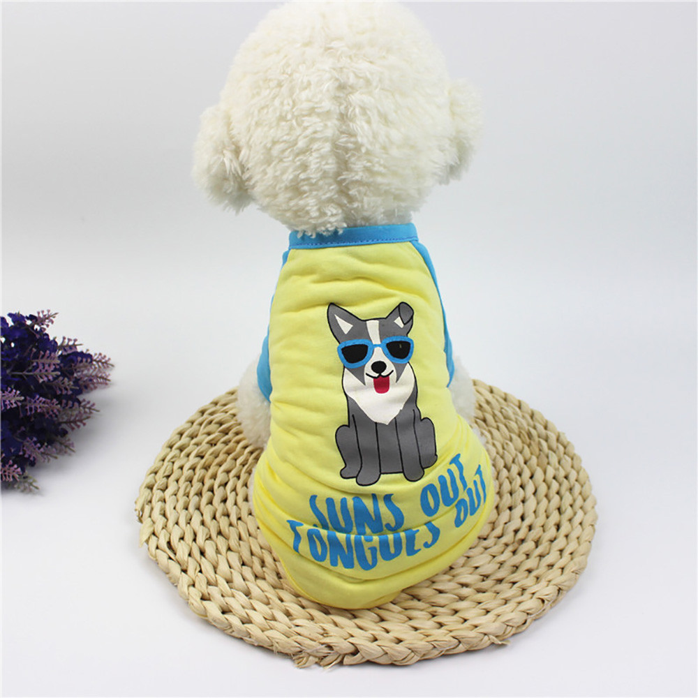 Small Dogs Costume Clothes For Little Dogs Overalls Lovely Dog Clothing Polyester T shirt Puppy Costume For Small Dog